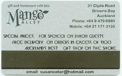Spencer on Byron Key Card - showing advertising