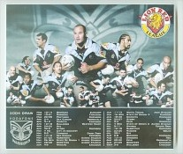 Vodafone Warriors Mouse Mats