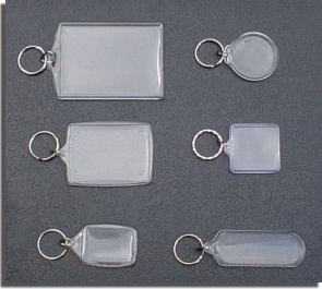 Samples of Acrylic Key rings/Key tags