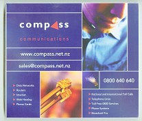 Compass Communications mouse pads