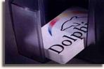 Dolphin Plastic Card Printer Hopper