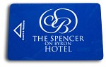 Spencer on Byron Hotel Key card-front