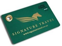 Signature Travel Luggage Tag