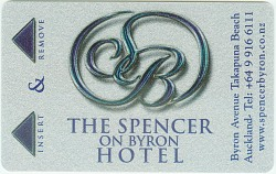 Spencer on Byron Hotel Key Card