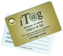 Taggs-r-us Luggage Tag