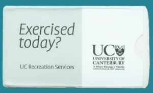 Vehicle Registration holders-University of Canterbury